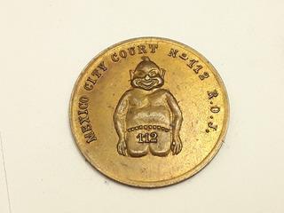 Medalla México City Court No. 112 Bronce