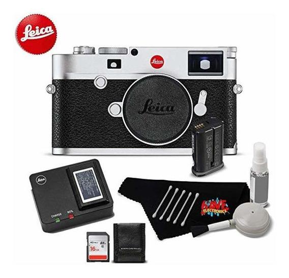 Camara Leica M10 Digital Rangefinder 24mp 20000 Silver 8705