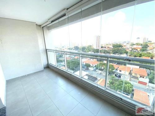 Apartamento Para Venda Em São Paulo, Campo Belo, 1 Dormitório, 1 Suíte, 2 Banheiros, 2 Vagas - Cablm1073_2-1162244