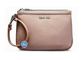 Última Unidade Bolsa De Mão Calvin Klein Plebe Nude