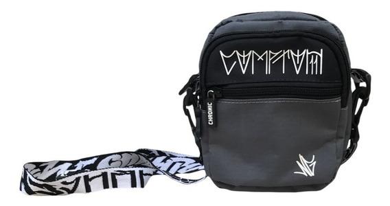 Mini Bolsa Lateral Chronic Shoulder Bag Comptom Laçamento.