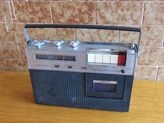 Radio Sharp Toca-fitas Rd-405