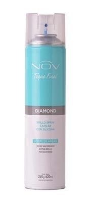 Spray Brillo Final Diamond Con Siliconas Y Aceite De Argan