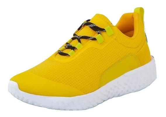 Sneaker Casual Cklass Amarillo Flat 87606dtt Caballero