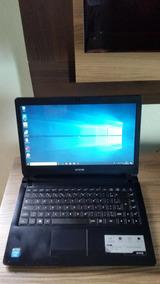 Notebook Cce Ultra Thin Dual Core 2gb Hd 320 Tela Led 14