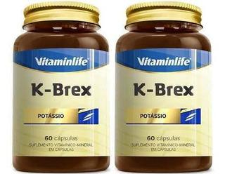 2x Potássio K- Brex - 60 Cápsulas - Vitamin Life