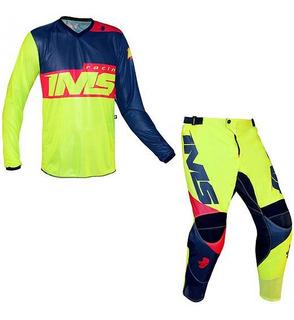 Calça Camisa Ims Army | Motocross Trilha Bike | 2021