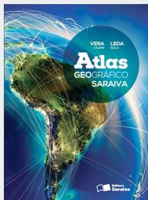 Atlas Geografico Saraiva Volume Unico