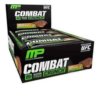 Barra Suplemento Mp Combat Crunch 12bar Chocolate Peanut