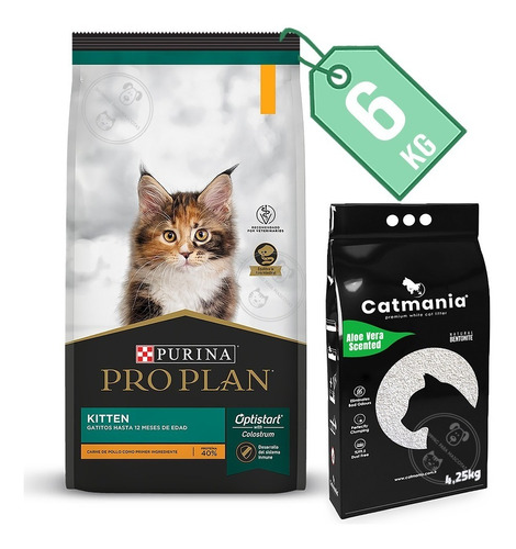 Imagen 1 de 3 de Pro Plan Kitten Gatitos 6 Kg