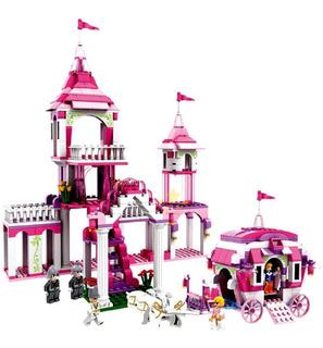 Lego Niñas Palacio Carruaje Real Juguetes 500p Legos Juguete