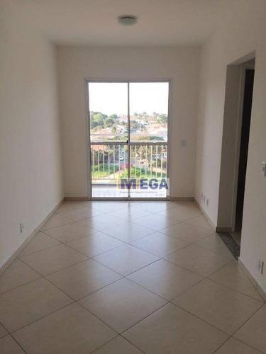 Imagem 1 de 16 de Apartamento Com 2 Dormitórios À Venda, 47 M² Por R$ 250.000,00 - Jardim Alto Da Boa Vista - Valinhos/sp - Ap4863
