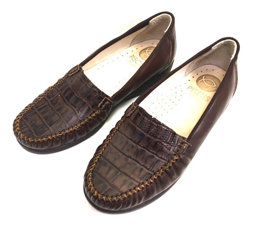 Imagen 1 de 1 de Zapato Para Dama 1131/marron