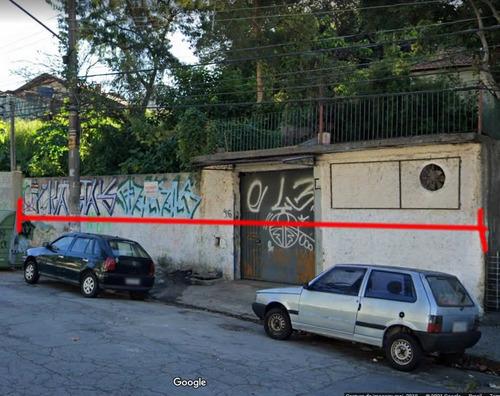 Imagem 1 de 8 de Terreno À Venda, 520 M² Por R$ 1.385.000,00 - Butantã - São Paulo/sp - Te0520