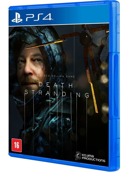 Game Death Stranding Edition Ps4 - Midia Fisica - Lacrado Nf