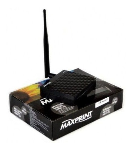 Roteador Repetidor De Sinal Maxprint Wireless 150 Af 2 Em 1