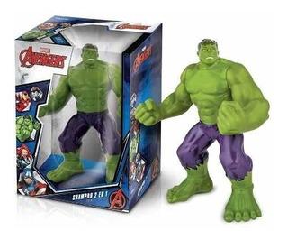 Avengers Hulk Shampoo + Gel De Baño 300ml - Nuevo!