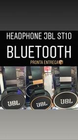 Fone Ts10 Super Bass Bluetooth Recarregável Com Leitor Sd