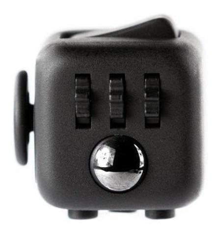 Fidget Hand Spinner Cubo Para Ansiedade Cube Anti Estresse
