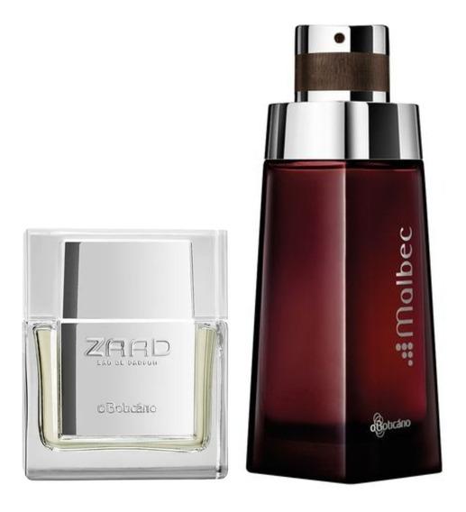 Perfume Zaad 30ml + Malbec 100ml Boticário