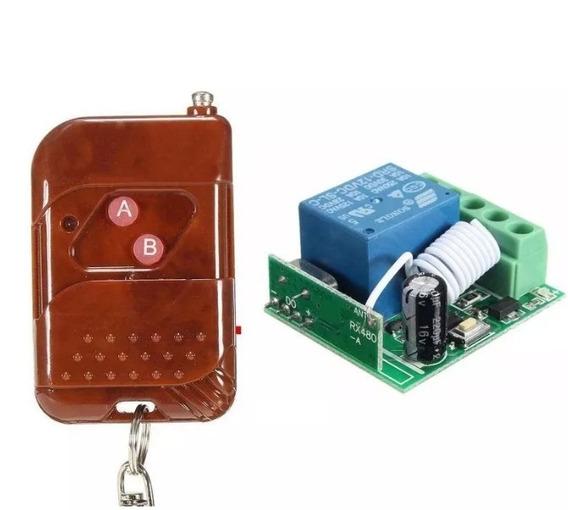 Módulo Receptor Rf433 Mhz Com Relé 1 Canal
