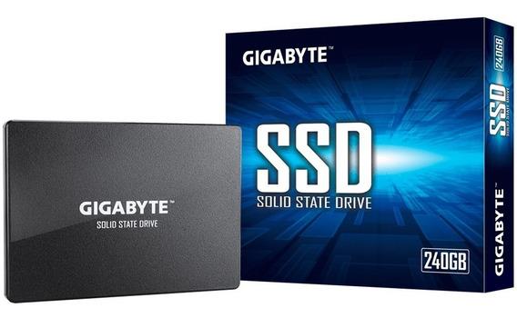 Disco Solido Gigabyte 240gb Ssd 500 Mb/s 2.5 Pulgadas 4