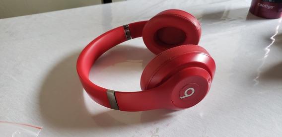 Headphones Beats Studio 3 Wireless Red - Fone