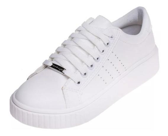 Zapatilla Mujer Savage Modelo Lr 26 Blanco