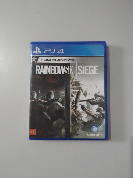 Tom Clancys Rainbow Six Siege Ps4 Mídia Fisica Original