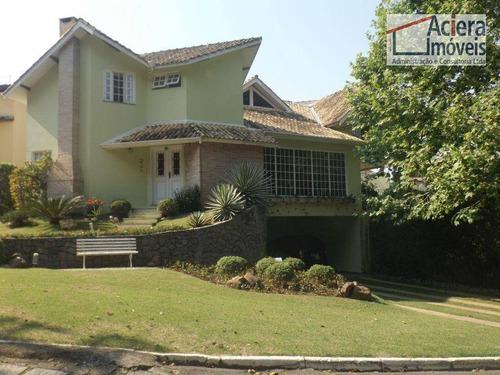 Imagem 1 de 30 de Haras Bela Vista - Residencia De Muito Bom Gosto E Ótimo Acabamento!!! - Ca0012