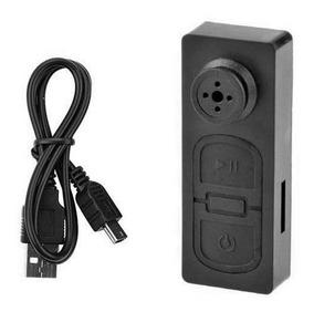Botão Espião Detetive Spy Micro Câmera