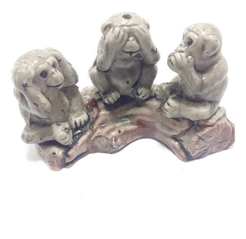 Tres Monos Sabios  M/ 1 Mahalpiedras