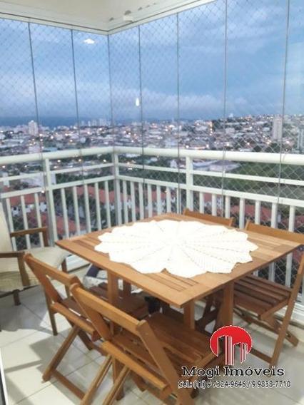 Apartamento Para Venda Em Mogi Das Cruzes, Parque Santana, 3 Dormitórios, 1 Suíte, 3 Banheiros, 2 Vagas - So462