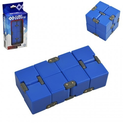 Cubo Mágico Infinito Cube Infinity Jogo Dobrável Divertido