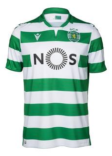 Camisa Original Sporting Lisboa 2019 Linda Nova Na Promoção