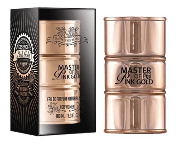 Perfume Master Essence Pink Gold 100ml Edp - New Brand