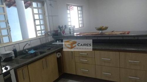 Imagem 1 de 21 de Casa Com 2 Dormitórios À Venda, 125 M² Por R$ 455.000,00 - Parque Jambeiro - Campinas/sp - Ca3191