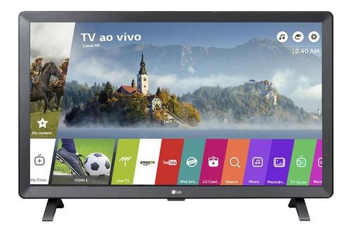 Smart Tv Led LG 24 P Quarto Cozinha Área De Lazer Churrasco