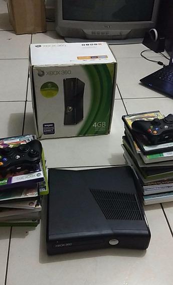 Troco Xbox 360 Slim Por Ps4,pd Ser Usado E Não Prcs Ter Jogo