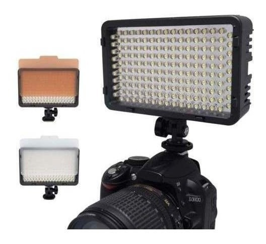 Luminador Led 130 Video Filmagem Fotografia Canon Nikon Sony