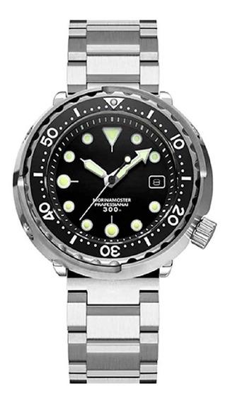 Addies Tuna Diver Marine Mergulho 300m Maq. Seiko Nh35a