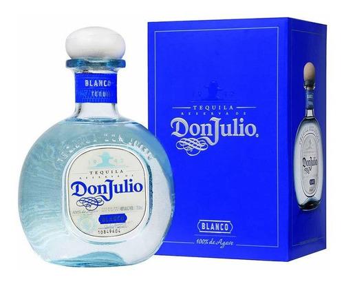 Tequila Don Julio Blanco (botella) 100 % Original