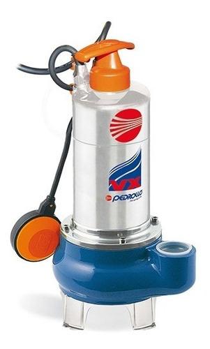 Bomba Sumergible 1hp 220v 2 Solido 2 Drenaje Agua M.pedrollo