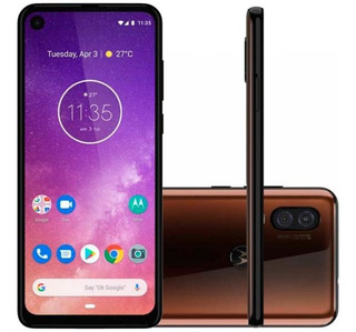 Celular Motorola One Vision 128gb 4gb Ram 6.3 Full Hd P