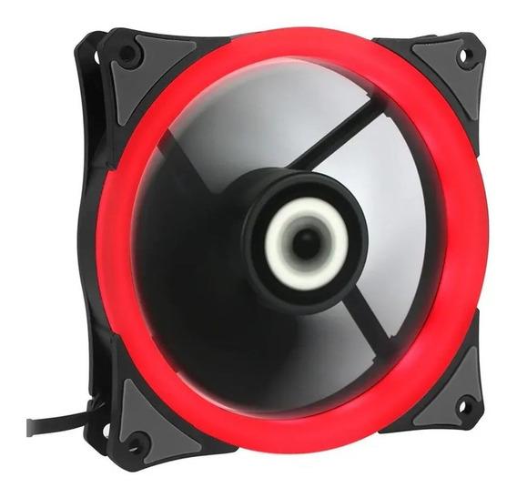 Cooler Leds Rojo Gmx-rf12-r 120mm