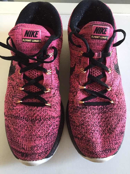 Nike Flyknit Lunar 3 Originales Mujer Talle 40/41