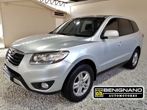 Hyundai Santa Fe Gls 2.4 N 4x2 7as 2012 - Rec Menor Financio