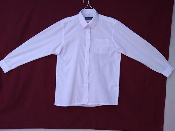 Camisa Blanca Manga Larga Para Mujer. Camisa Para Mujer.