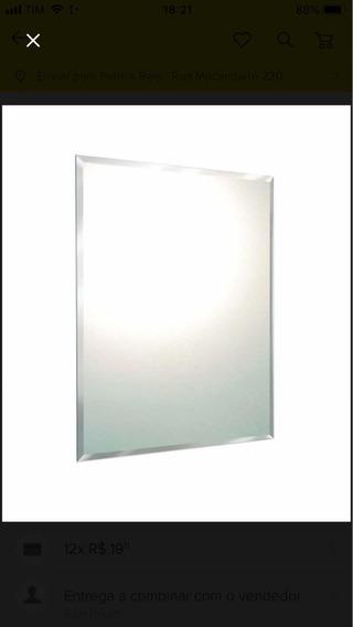 Espelho 3 Bisotê 60 X 80 Com Pendurador