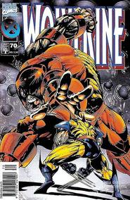 Hq Gibi Wolverine Nº 70 Ano 1997